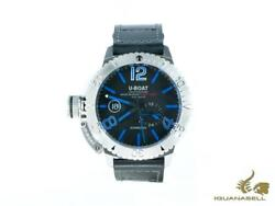 U-boat Classico Sommerso Automatic Watch Black 46 Mm 30 Atm 9014