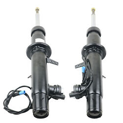 Pair Front Right+left Shock Absorber 2 Pcs Fit For Bmw X5 F15 X6 F16 New