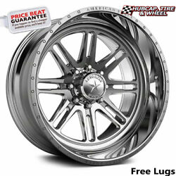 American Force Ckh31 Knight Concave Polished 22x12 Wheel 8 Lug Set Of 4