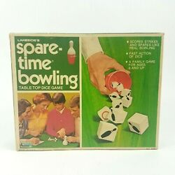 Vintage 1974 Spare-time Bowling Dice Game Lakeside Games No. 8340