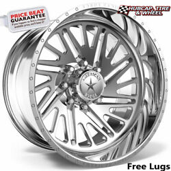 American Force Ckh12 Sidewinder Concave Polished 26x14 Wheel 8 Lug One Wheel