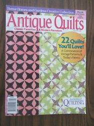 Better Homes And Gardens Antique Quilts Magazine 2010 Volume One - 22 Quilts