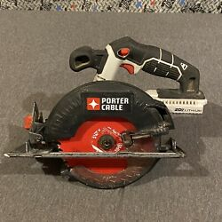 Porter Cable 20v Max Lithium Circular Saw Tool Only - Pcc660
