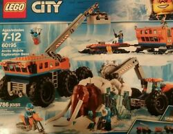 Lego City Arctic Mobile Exploration Base 60195 Woolly Mammoth No Box Sealed Bags
