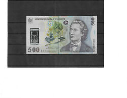 Romania 500 Lei 2005 Pick 123a Polymer Uncirculated Banknote