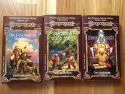1993 DragonLance Dwarven Nations Trilogy All books are 1st Printing Unread