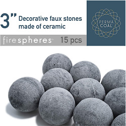 Bond Manufacturing Ceramic Fire Balls   Set Of 15   Fire Pit / Fire Table Access