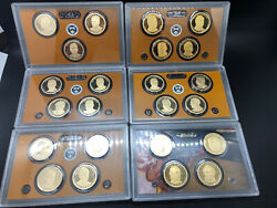 Presidential Dollar Prf 1 Coin Sets 23-coins No Box. 9-12, 21st-40th President