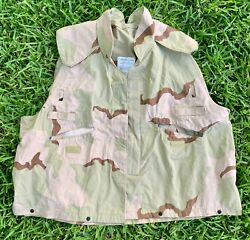 Cover Pasgt Vest Camouflage Desert Camo Size Large Usgi Military Issue