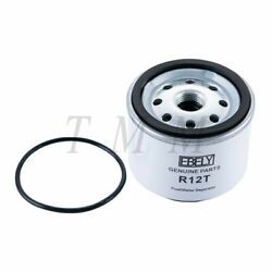 Ebely Fuel Filter Water Separator R12t Replace For 3/8 Npt Outboard Motors