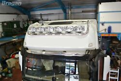 To Fit Mercedes Actros Mp5 Giga Space Cab Drop Down Roof Light Bar + Round Spots