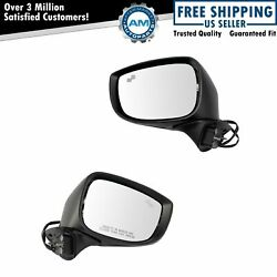 Mirror Set Lh And Rh Sides Power Heated Turn Signal Blind Spot For Mazda Cx9