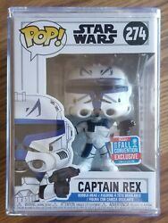 Captain Rex Funko Pop 2018 Fall Convention Exclusive Limited Edition