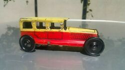 Vintage Rolls Royce Car Toy Vehicle 1950's Wind Up Germany Tin Litho And Key Works