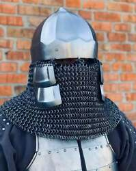 Lord Of The Rings Helmet With Shield Medieval Costume Medieval Knight