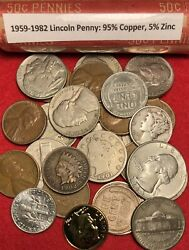 *SALE* NICE U.S. COIN COLLECTION BULLION LOT Vintage Gold 90% Silver 75 Coins $29.99