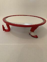 Cake Plate Stand Dept 56 Devil Made Me Eat It