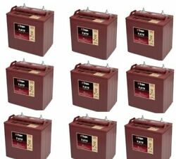 Replacement Battery For Trojan T875-9-pack 72v
