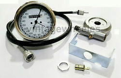 Smiths Replica 0-160 Kmh Speedo + Drive And 40 Inches Cable For Classic Bikes