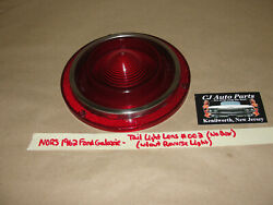 Nos/nors 1962 Ford Galaxie Tail Light Lens Without Reverse Light 002