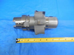 Hsk63a Integral Solid 91 Mm Diamond Tipped End Mill Tool Holder 1r 5800 0100280x