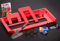 Bricky - Wall Building / Bricklaying Tool + Trowel Adjustable Model