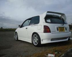 For 96-99 Toyota Glanza Startlet Ep91 Jun Style Frp Rear Spoiler Roof Wing Lip