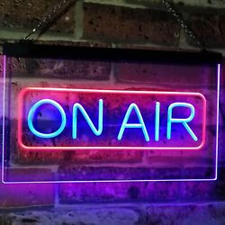 On Air Signal Recording Studio Bar Dual Color Led Neon Sign St6-i2480