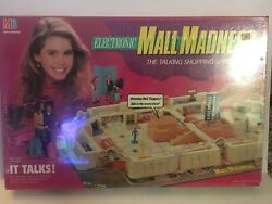 Vintage 1989 Mall Madness Board Game Milton Bradley Near Complete