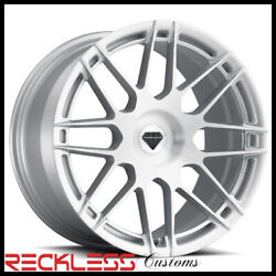 Blaque Diamond 20 Bd-f12 Silver Concave Wheel Rims Fits Honda Accord Coupe