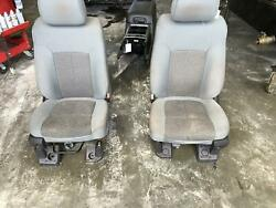 2011-2016 Ford F350sd Front Seat Air Bag Bucket Cloth Eletric
