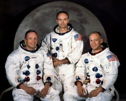 New Lunar Mission Photo Apollo 11 Astronauts First Men On The Moon - 6 Sizes