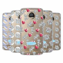 Official Me To You Patterns Soft Gel Case For Motorola Phones