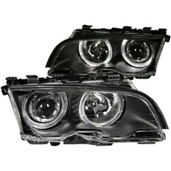 121015 Anzo Headlight Lamp Driver And Passenger Side New For 320 323 325 328 330
