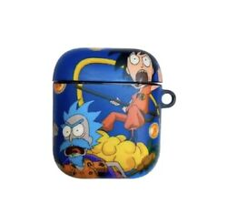 Rick amp; Morty Dragon Ball Cross Over For Apple Airpod 2 Case $15.00