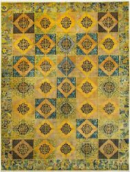 Hand-knotted  Carpet 9'2
