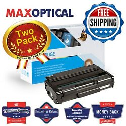 Free Shipping 2pack Ricoh 406465 Reman Micr Toner For Sp3400/3410- Black