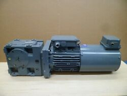 Lenze Gks05-3m Har Gearbox With Motor And Encoder 277-480vac 3ph. N.o.s.
