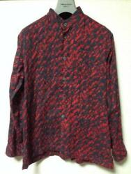 Issey Miyake Men Total Pattern Long Sleeve Shirt Red Size 1 Prompt Decision Dhl