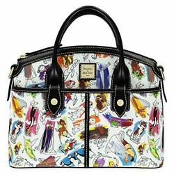 Disney Ink And Paint Satchel By Dooney And Bourke Scene From Splash Mountain Ride