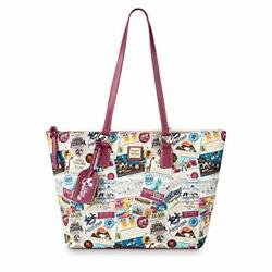 Disney Vacation Club Zip Tote By Dooney And Bourke