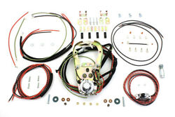 Replica Two Light Dash Base Wiring Harness Assembly Harley Knucklehead Big Twin