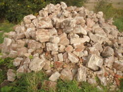 Petrified Wood Over 7 Tons One Lot Up To 20 X 20 Mixed Sizes