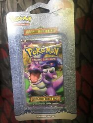 Pokemon Dragon Frontiers Blister Pack Nidoking Extremely Rare