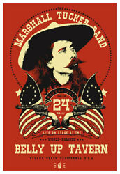 Scrojo The Marshall Tucker Band Belly Up Tavern 2013 Poster Marshall_1306