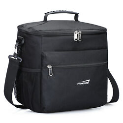 Insulated Lunch Bag High Capacity Cooler Tote Bag for Men Women Adult Waterproof $29.99