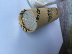 10 Cent 50 Years Changeover Roll Rare 2016 Ram Mint Roll Coins 5000 Only