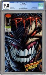 Pitt 1 Cgc 9.8 White Pages- 1993-1st Appearance App Image
