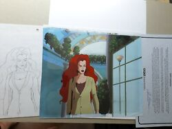Spawn Angela Production Used Animation Cel And Matching Production Drawing Hbo