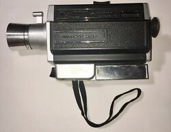Vintage Antique Belle And Howell Autoload Super 8 Zoom 1201 Camera